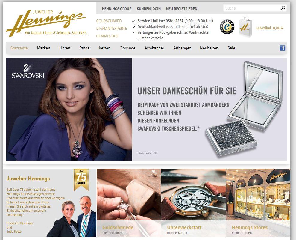 Online Juwelier Hennings